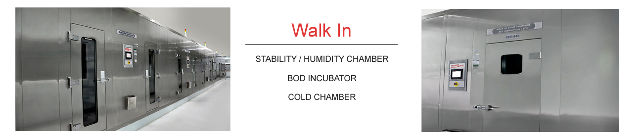 Walk-in Stability / Humidity Chamber
